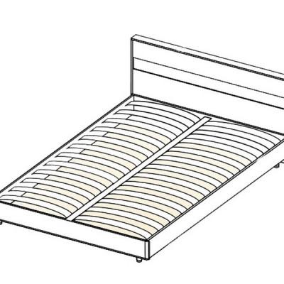 """Кровать 1400 """"Флоренция"""""""