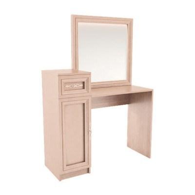 """Туалетный столик с зеркалом """"Амелия"""" (модуль 8) дуб млечный"""
