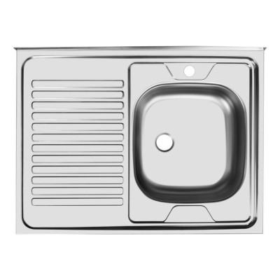 Мойка для кухни накладная AS03173 (правая)
