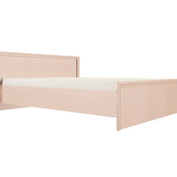 """Кровать """"Амелия"""" 1,4 м (модуль 11) дуб млечный"""