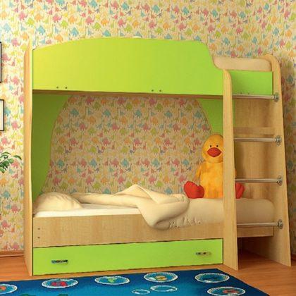 Кровать Vitamin А (клен-лайм)