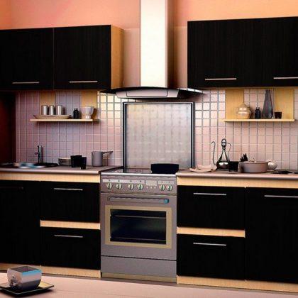 Кухонный гарнитур Dolce Vita-20 (клен-венге) ЛДСП