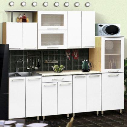 Кухонный гарнитур Dolce Vita-14 (клен-белый)
