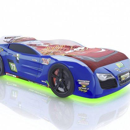 Кровать Romack Renner 2 синяя