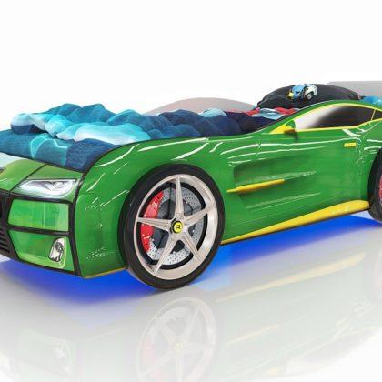 Кровать Romack Kiddy зеленая