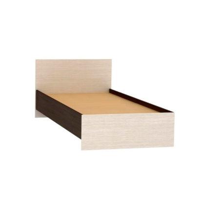 """Кровать """"Бася"""" 0,9 м (КР-555) венге/дуб беленый"""