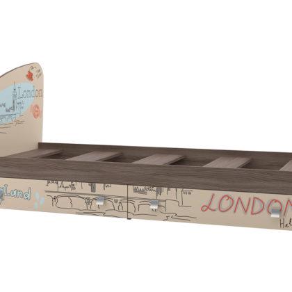 """Кровать с ящиками """"Лондон"""" КР-19"""