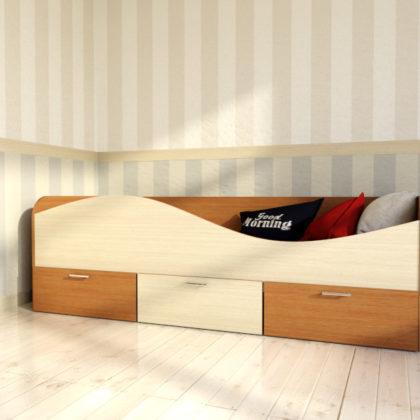 Кровать с ящиками Кр-3