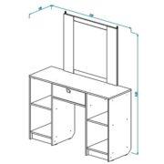 Столик туалетный СТ-4 схема
