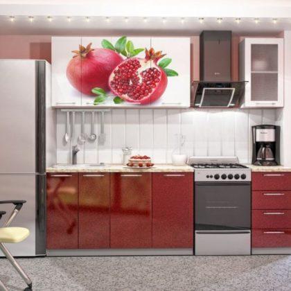 """Кухонный гарнитур """"Гранат"""" 1,8 м"""
