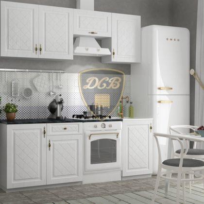 """Кухонный гарнитур """"Гранд"""" (белый) 2.1 м"""