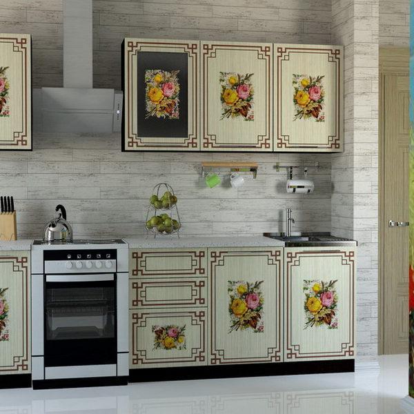 """Кухонный гарнитур """"Легенда-21"""" винетки 2,0 м"""