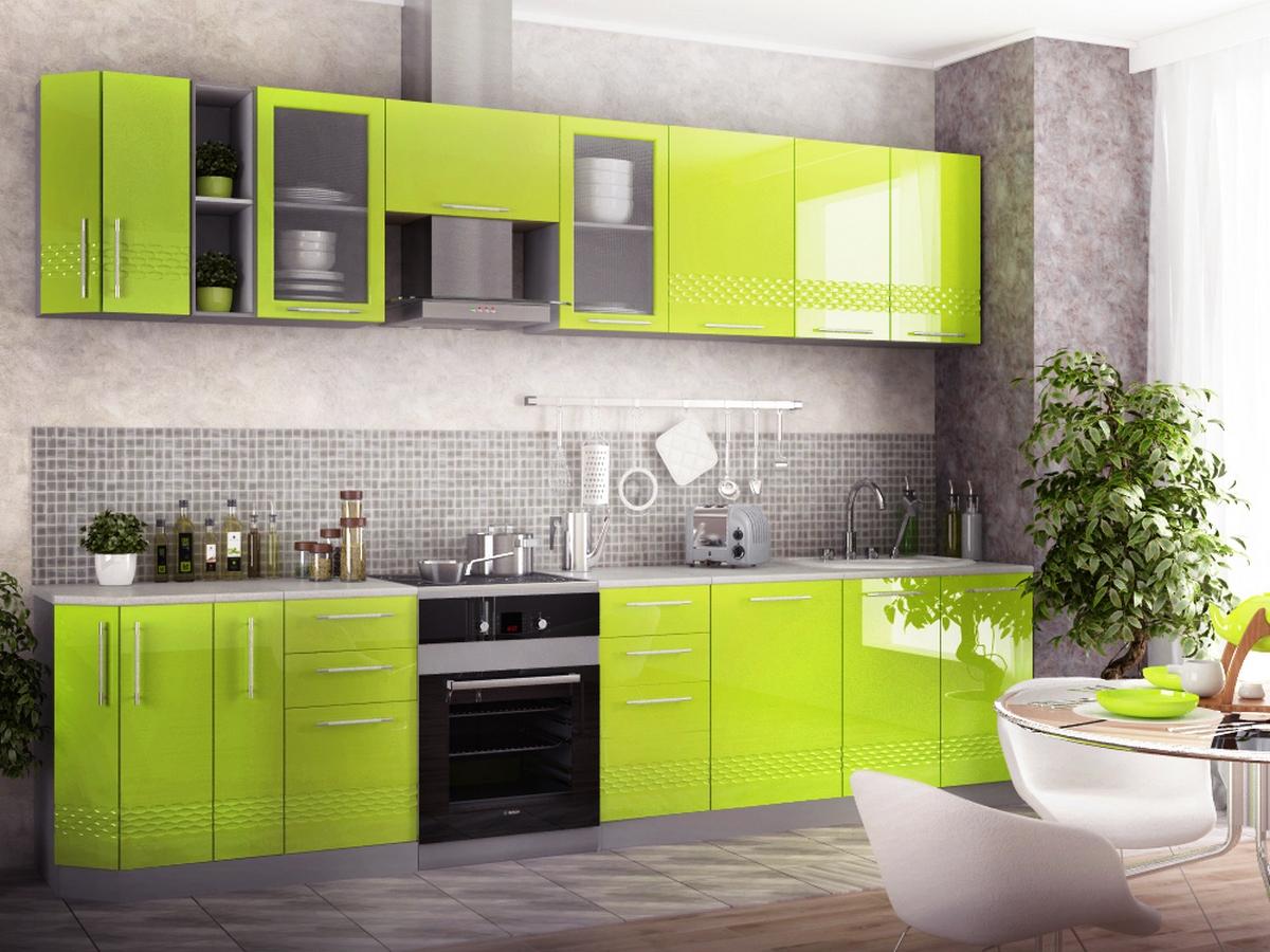 Мебель зеленого цвета фото