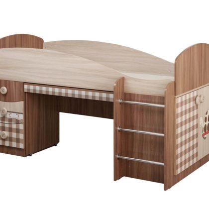 """Кровать с выкатным столом """"Алиса"""""""