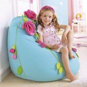 """Детское кресло-мешок """"Голубая мечта"""" в интерьере"""