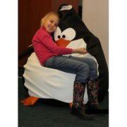 """Детское кресло-мешок """"Пингвин"""" в интерьере"""