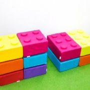 """Пуф малый и большой """"Лего""""в интерьере"""