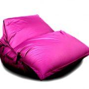 Кресло-подушка-трансформер с ремнями (нейлон) фуксия