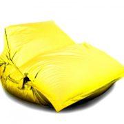 Кресло-подушка-трансформер с ремнями (нейлон) желтый