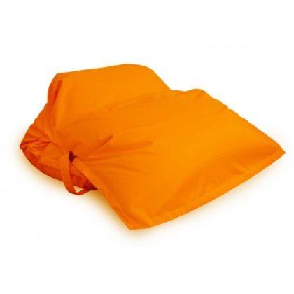 Кресло-подушка-трансформер с ремнями (зима-лето) оранжевый