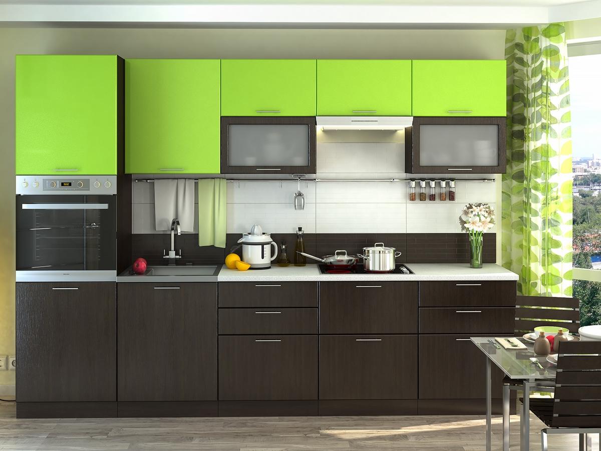 Двухцветные кухни фото сочетание