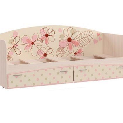 """Кровать с ящиками """"Нежность"""" КР-1"""