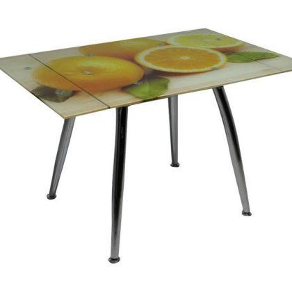 Стол обеденный ТВ-005 (Апельсины)
