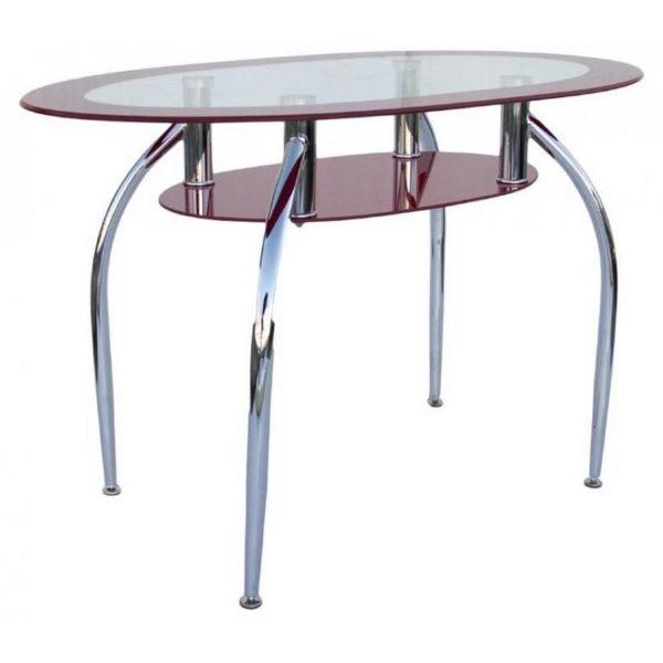 Стол обеденный DT445 красный