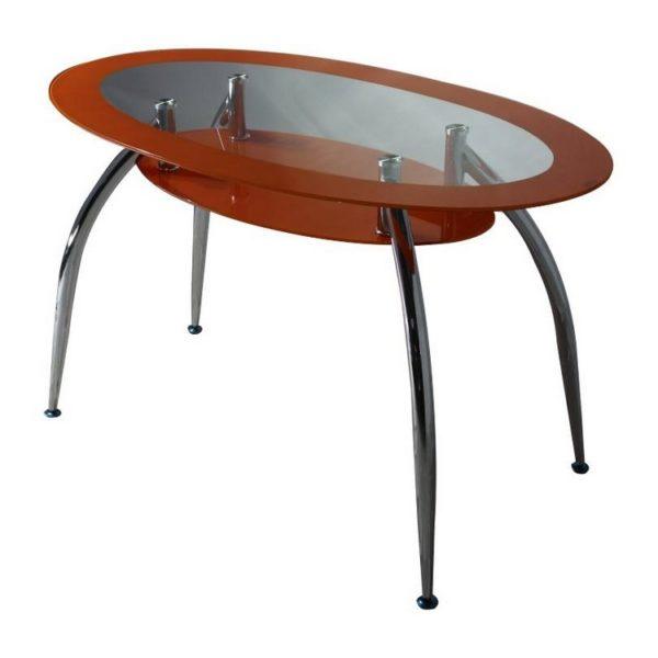 Стол обеденный DT445 оранжевый
