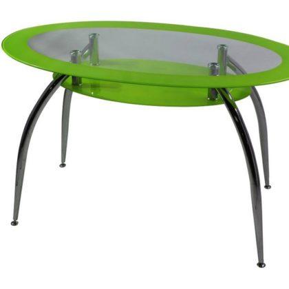 Стол обеденный DT445 зеленый