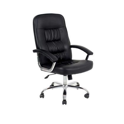 Кресло офисное 9923 PVC (черный)