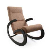 """Кресло-качалка """"Dondolo-1"""" (венге/коричневый)"""