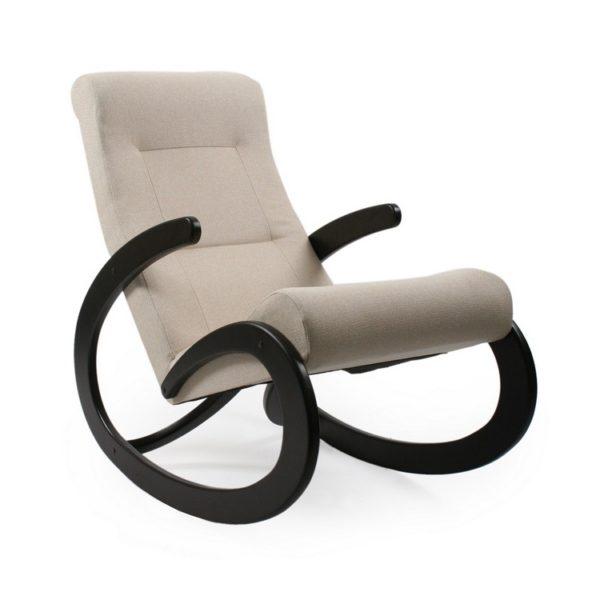 """Кресло-качалка """"Dondolo-1"""" (венге/молочный)"""