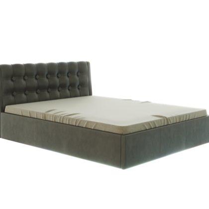 """Кровать """"Лагуна"""" 1,6 м (коричневый)_ромб"""
