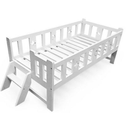"""Кровать детская """"Алекс"""" белая"""