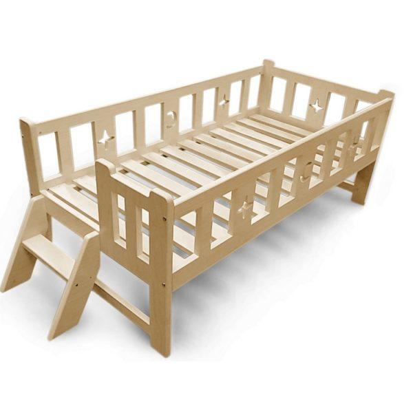 """Кровать детская """"Алекс"""" бесцветный лак"""