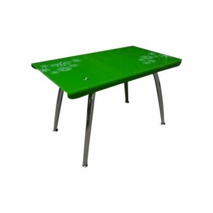 Стол обеденный DT-787 (стекло зеленое)