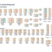 Модули кухни Прованс