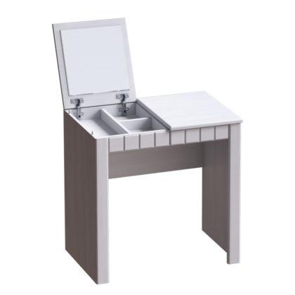 """Столик туалетный """"Прованс"""" (бодега белая/платина премиум)"""