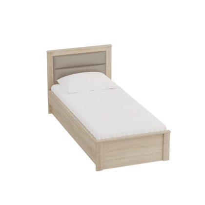 """Кровать 900 """"Элана"""" (дуб сонома)"""