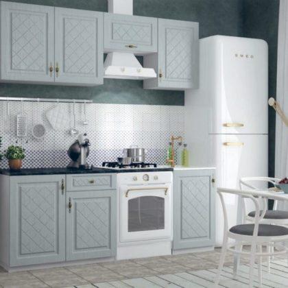 """Кухонный гарнитур """"Гранд"""" (пепел) 2,1 м"""