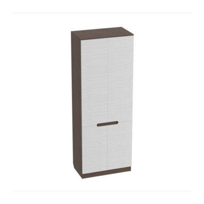 """Шкаф для одежды """"Виго"""" (венге/белый дым)"""