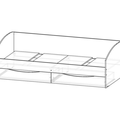 """Кровать-диван """"Вита"""" 80*200"""