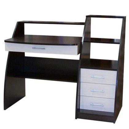 Стол компьютерный СК-09 (венге/дуб молочный)