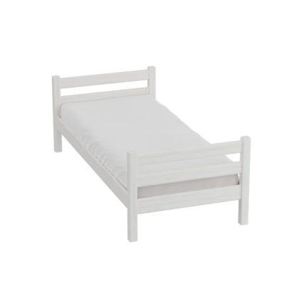 """Кровать """"Соня"""" (массив сосны белый)"""