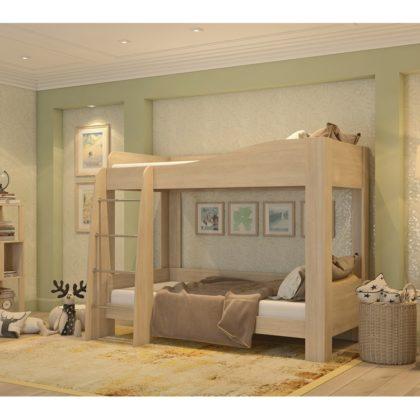 Кровать детская двухъярусная КР-38