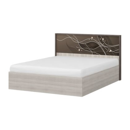 """Кровать двуспальная с подъемным механизмом """"Николь"""" 1,6 м (МС)"""