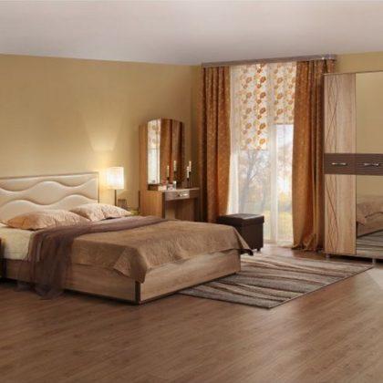 """Модульная спальня """"Ривьера."""""""