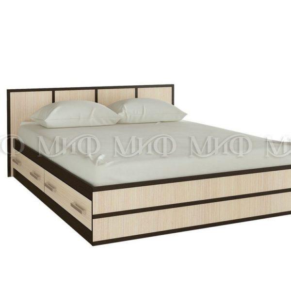 """Кровать двуспальная """"Сакура"""" 1,4 м"""