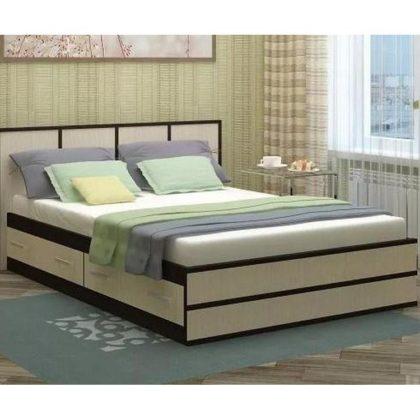 """Кровать двуспальная """"Сакура"""" 1,2 м"""